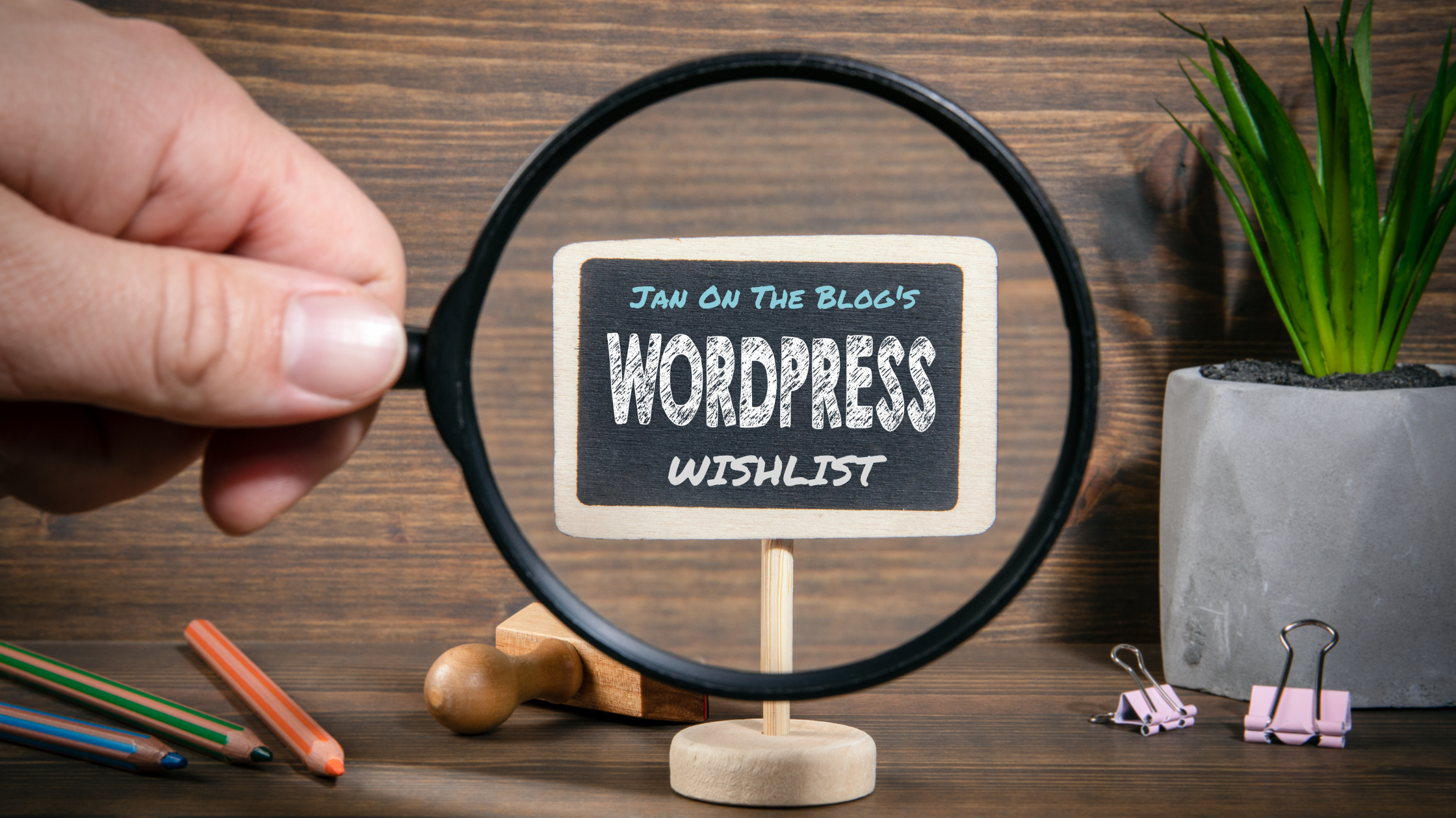 Just for laughs: WordPress features I wish there was