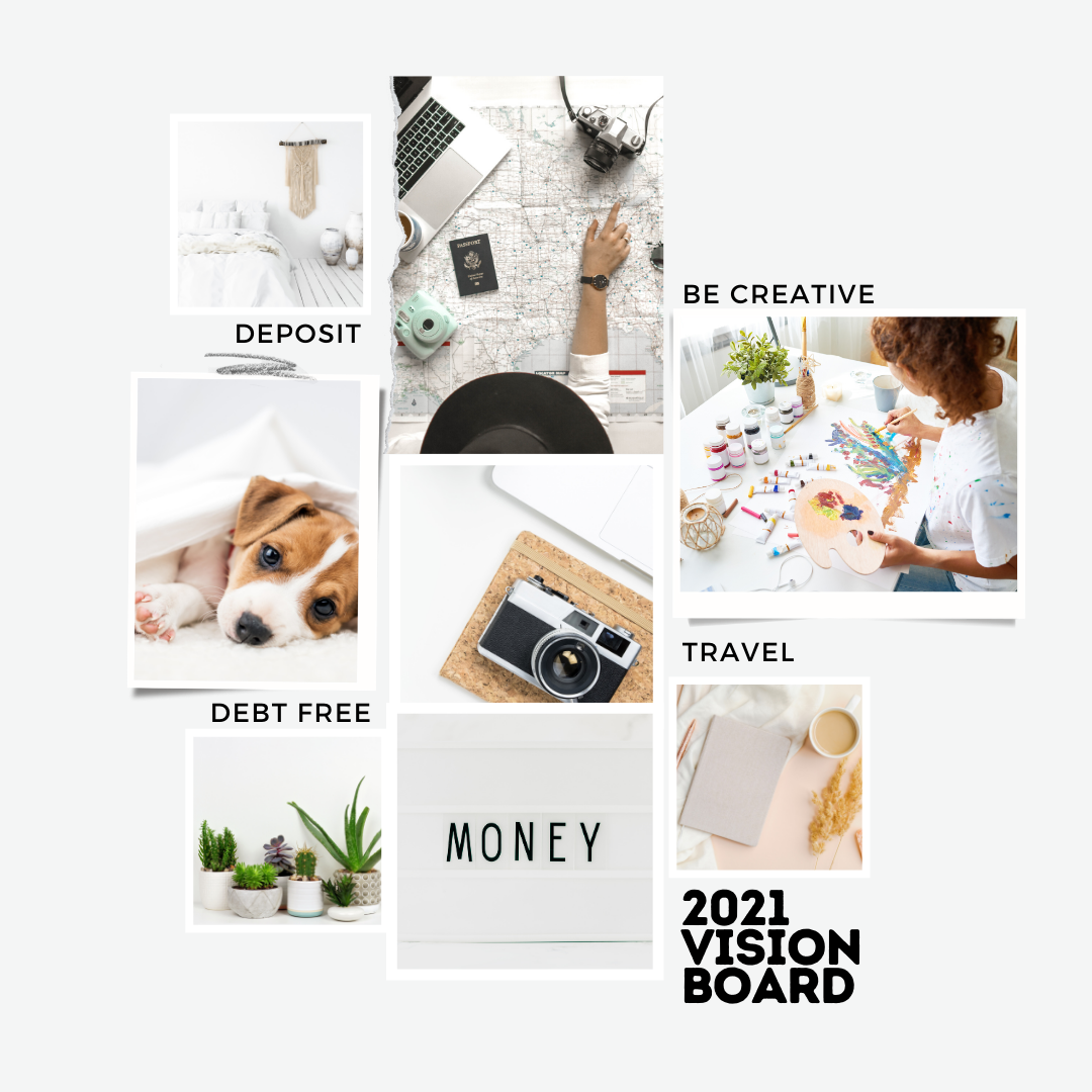 Simple steps to create a vision board